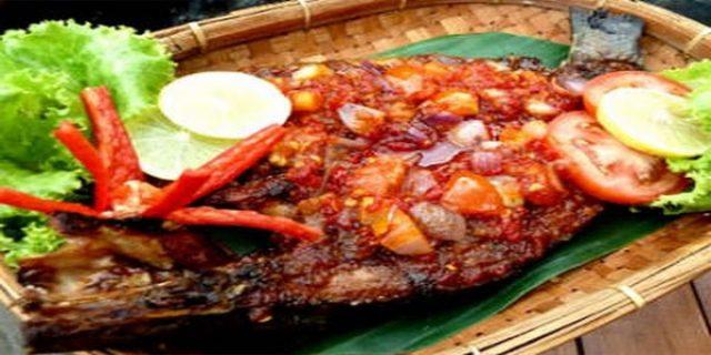 Ikan Bakar Rica