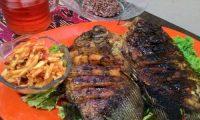 Ikan Bakar Sambal Mangga